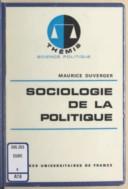 Bildung aus Gallica über Sociologie politique
