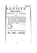 Illustration de la page Savoie -- 1416-1713 (Duché de Savoie) provenant de Wikipedia