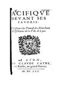 Illustration de la page Jean Marcel (préfacier, 15..?-16..) provenant de Wikipedia