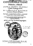 Image from Gallica about Lodovico Zuccolo (1568-1630)