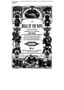 Les mille et une nuits : contes arabes,  trad. par Galland  Augmentée d'une dissertation sur les Mille et une nuits par S. de Sacy  1839
