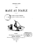 Image from Gallica about La mare au diable