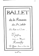 Image from Gallica about Ballet de la revente des habits. LWV 5