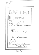 Image from Gallica about L'amour malade. LWV 8