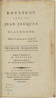 Illustration de la page Rousseau juge de Jean-Jacques, dialogues provenant de Wikipedia