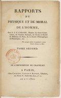 Illustration de la page Rapports du physique et du moral de l'homme provenant de Wikipedia