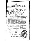 Illustration de la page Jeanne (papesse) provenant de Wikipedia