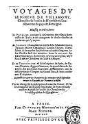 Bildung aus Gallica über Jacques de Villamont (1558-1628?)