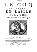 Illustration de la page Jacques de Coras (1625-1677) provenant de Wikipedia