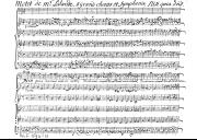 Illustration de la page Nisi quia Dominus. Voix (4), petit choeur à 2 voix, choeur à 5 voix, orchestre. S 26 provenant de Wikipedia