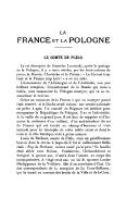 Louis de Bréhan, comte de Plélo (1699-1734)  La France et la Pologne, le Comte de Plélo. 1919