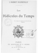 Image from Gallica about Les ridicules du temps