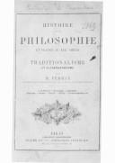 Bildung aus Gallica über Tradition (philosophie)