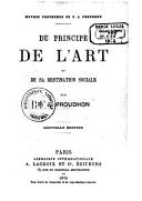 Illustration de la page Du principe de l'art et de sa destination sociale provenant de Wikipedia
