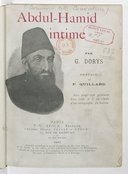 Abdul-Hamid intime  G. Dorys. 1901