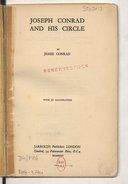 Image from Gallica about Joseph Conrad (1857-1924)