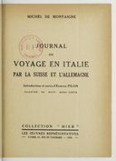Image from Gallica about Journal de voyage