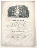 Dialogue sur la tombe du Prince Poniatowski entre l'ombre de ce Prince et le Passant  1831