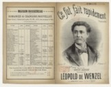 Illustration de la page Leopold Wenzel (1847-1923?) provenant du document numerisé de Gallica