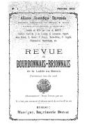 Revue du Bourbonnais-Brionnais, de la Lodde au Sornin