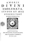 Bildung aus Gallica über Balthasar Moretus (1615-1674)