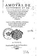 Bildung aus Gallica über Achille Tatius