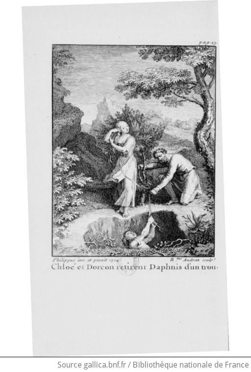Les amours pastorales de Daphnis et de Chloé, avec figures