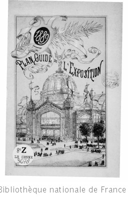 Plan-guide de l Exposition universelle [1889]
