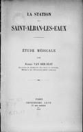 Bildung aus Gallica über Robert Van Der Elst (1876-1947)