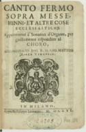 Bildung aus Gallica über Giammateo Asola (1532?-1609)