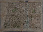 Jaffa-Nablous / Reproduction par le Service géographique de l'Armée de la carte de reconnaissance de l'E.M. Ottoman1926