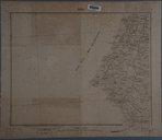 Gaza / Reproduction par le S.G. de l'Armée de la carte de reconnaissance de l'Etat-Major ottoman1919