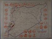Syrie et Liban : carte touristique  1941