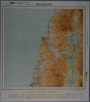 Palestine / Compiled , drawn and printed by Survey of Palestine  1944