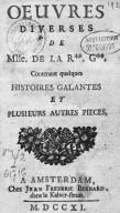 Image from Gallica about Anne de La Roche-Guilhem (1644-1710)