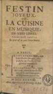 Illustration de la page Festin joyeux ou La cuisine en musique, en vers libres provenant de Wikipedia