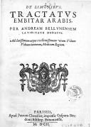 Illustration de la page Andrea Alpago (145.-1521) provenant de Wikipedia