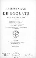 Bildung aus Gallica über Joseph Joffroy