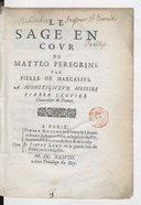 Illustration de la page Matteo Peregrini (1595?-1652) provenant de Wikipedia
