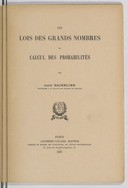 Image from Gallica about Loi des grands nombres