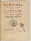 Illustration de la page Jean-Baptiste Lucotte Du Tilliot (1668-1750) provenant de Wikipedia