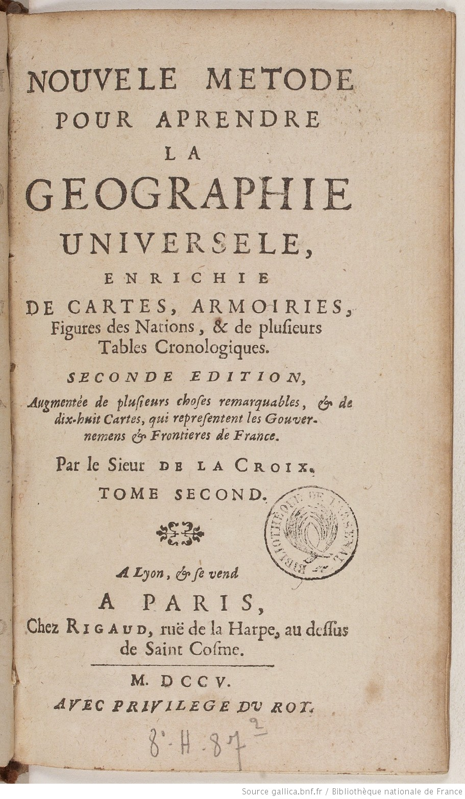 la geographie universelle