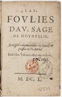 Illustration de la page Daniel Le Sage (1615-1649) provenant de Wikipedia