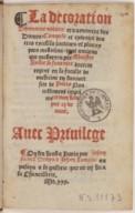 Bildung aus Gallica über Pierre Leber (150.?-1562?)