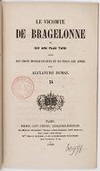 Image from Gallica about Le vicomte de Bragelonne