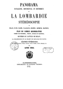 Image from Gallica about Lombardie (Italie)