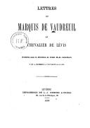 Illustration de la page Pierre de Rigaud de Cavagnal Vaudreuil (marquis de, 1698-1778) provenant de Wikipedia