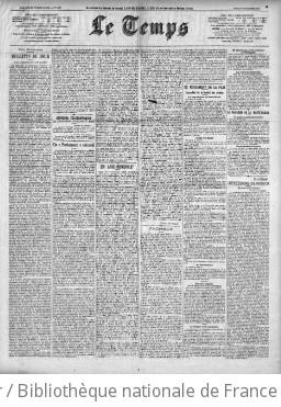 Le Temps (Paris. 1861)