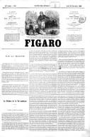 Figaro : journal non politique. Numéro 916  26 nov. 1863