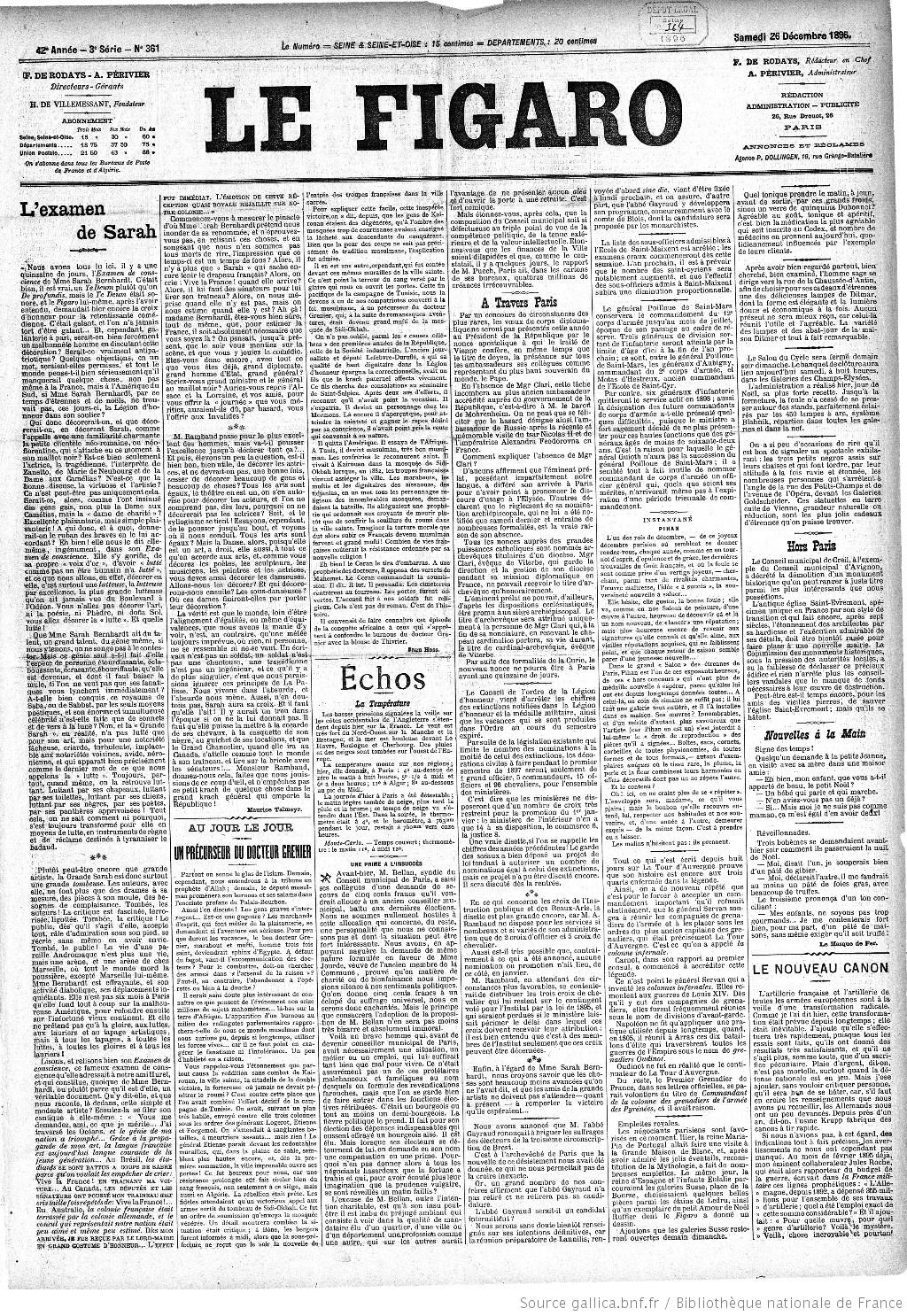 c41e5915cea42 Figaro   journal non politique   1896-12-26   Gallica